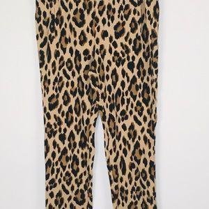 Animal Print Design Pants